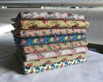 Reproduction Fabric Half Yards Judie Rothermel Marcus Brothers Quilting Sewing Civil War piecesofpine
