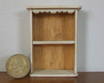 Miniature Shelf  1:12 scale