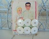 vintage Pearl uniform buttons doctors nurses