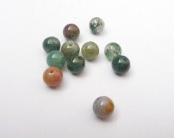 Indian Agate Round Beads