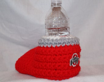 Ready to ship - Ohio State Drink Mitt (small patch) - The mitten with the drink holder