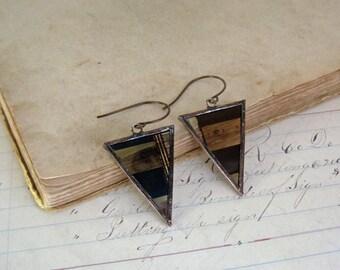 Triangle Movie Film Earrings