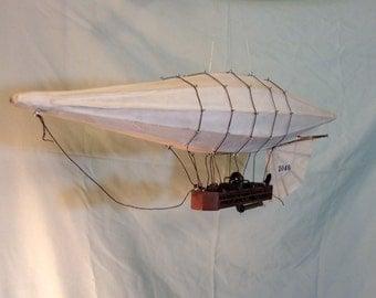 The Valiant Swordfish, Steam Aerostat