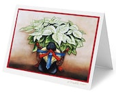 Greeting Cards, Blank Cards, Mexican Cards, Mexico, Mexican Art Crds, Diego Rivera, Christmas Cards, The Flower Seller