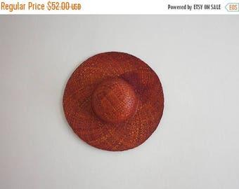 25% SALE vintage sun hat
