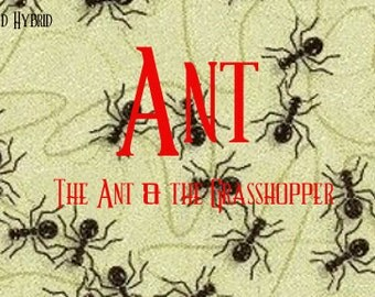 Ant perfume oil - 5ml - Thick, golden honey, fruit salad, two vanillas and cotton candy