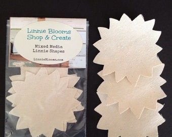 Canvas Sunflower Die Cuts