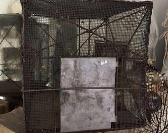 Antique Squirrel Cage, Victorian Animal/bird/cricket Cage.