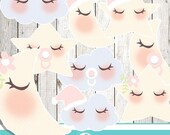 Girl baby sky - COMMERCIAL USE OK