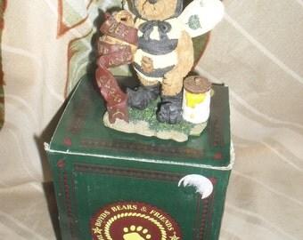 Boyds Bears - Bearstone collection - Caren B Beelove - BumbleBee