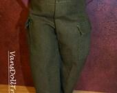 Dasia Clothing Green Safari Pants