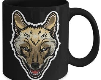 Jackal Canine Animal Coffee Mug