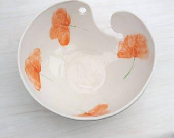 Yarn Bowl - Knitting bowl - Knitting Gifts - Ceramic Yarn Bowl - Crochet Bowl - Yarn Holder - Wool Holder - Wool Bowl - Gifts for Knitters