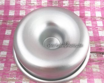 MED. DONUT Bath Bomb Mold, Metal, 3 3/8""