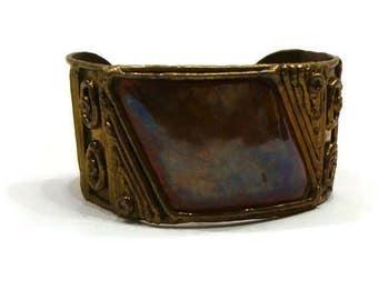 Vintage Brass Bracelet Vintage Cuff Bracelets Copper and Brass Bracelet Vintage Style Bracelets Copper Brass Bracelets