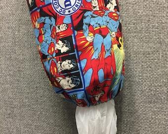 Superman Plastic Bag Dispenser/Plastic Bag Holder