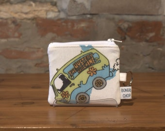 Mystery Machine Mini Wallet with ID Holder Recycled