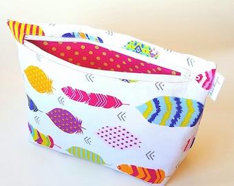 Colorful Arrows Bag- Accessory Bag