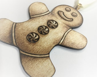 Gingerbread Fellow Yule Tree Ornament