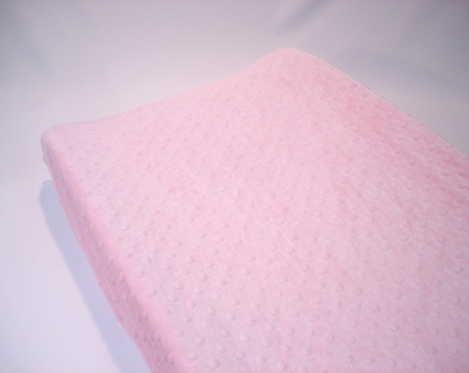 Pink Changing Pad Cover Blush