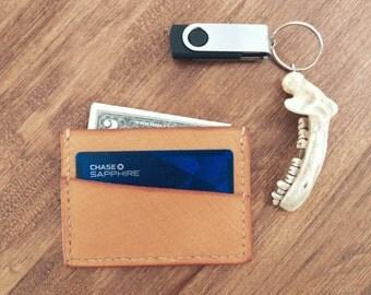 Skin Textured  Slim Wallet