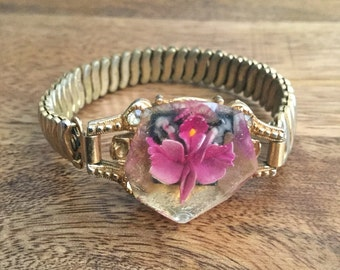 SALE 40s Preserved Flower Bracelet Free US Shipping
