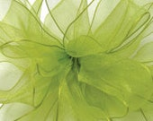 """Wedding Pew Bows, Lime/Plum, Custom Order for """"barbiestoy"""", Lot of 20"""