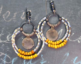 Cosmopolitan Tribe Summer Earrings