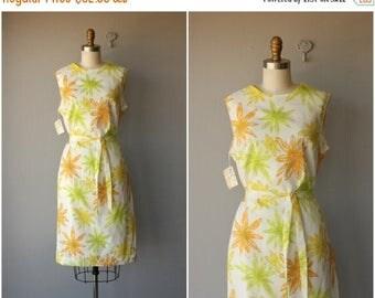 25% OFF FLASH SALE.. Daisy Print Dress | 60s Floral Print Dress | 60s Day Dress | 1960s Dress | 1960s Dress | Vintage 60s Dress | Vintage Sh