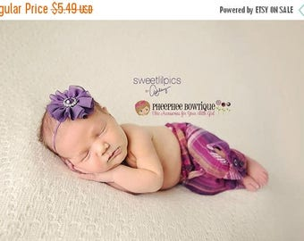 30% OFF SPRING SALE Purple Flower Headband, Twirl, Infant Headband, Baby Headband, Newborn Headband, Flower Girl, Baby Shower Gift, School H