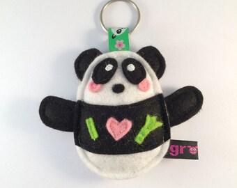 Keychain Panda Bear - Grommt