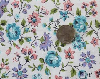 Vintage Fabric Floral