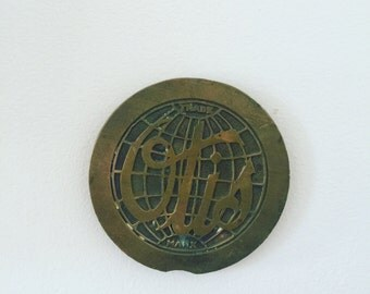 Otis Bronze Elevator Plate