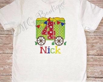 Circus birthday shirt, Birthday circus shirt, Circus  birthday girls or boys circus birthday shirt, You pick number