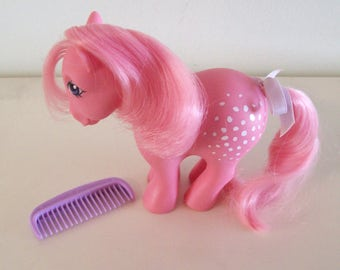 My Little Pony Cotton Candy CF with Accessories Vintage Hasbro MLP Concave Feet