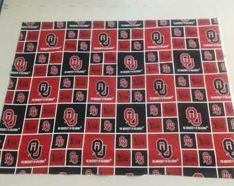 University of Oklahoma Fabric 248064