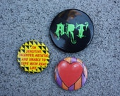3 Vintage Pins For Artist and Creative Person in Your Life