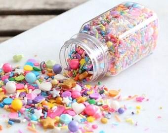 Sprinklefetti Unicorn Sprinkles Mix, Edible Sprinkles, Heart Sprinkles, Cake Sprinkles, Cupcake Sprinkles, Quins, Cake Sprinkles, Cupcake