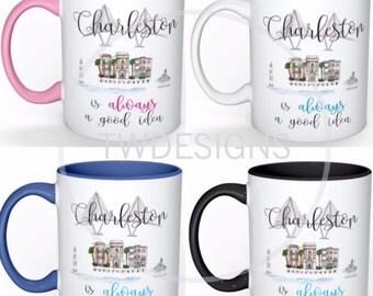 Charleston Mugs