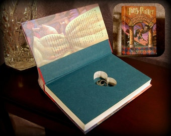 Hollow Book Safe with Heart (Harry Potter and The Sorcerer's Stone)