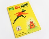 Vintage 1950s Childrens Book / The Big Jump and Other Stories by Benjamin Elkin 1958 Hc / Dr Suess I Can Read It All By Myself Beginner Book