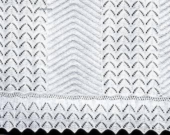 Bedspread/Counterpane/Panels/Blanket Shawl PDF download Knitting Pattern