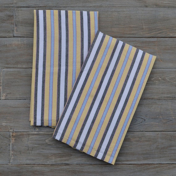 light blue kitchen towels kitchen towels light blue amp butter yellow by mayamamweavers 6965