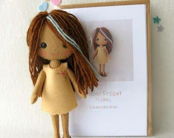 Pocket Poppet Kit - Audrey