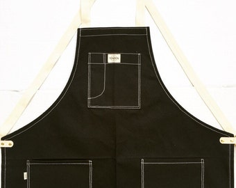 Pastry Apron cross back strap