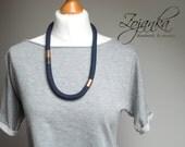 MODERN necklace, statement necklace, linen necklace, MINIMALIST necklace, simple necklaces, gift ideas