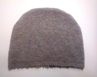 Soft adult hat, cashmere hat, teen, one size, cancer care, tan, light brown, hat, soft hat