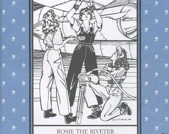 Rosie The Riveter, Folkwear Pattern 240