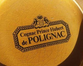 Vintage Cognac Polignac - France - French Cognac  ~ souvenir ~china ~ collectibles ~ colletors item ~ ashtray - drinks bar party - wedding