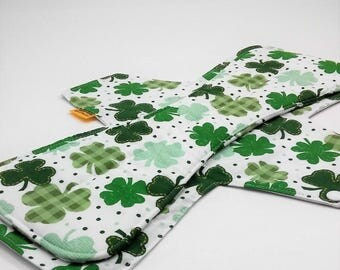 17 Inch Reusable Pad,Incontinence Pad,Postpartum Pad,Overnight Pad,Heavy Flow Pad,Heavy Absorbency Cloth Pad,Cotton Top W PUL Backing